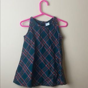 Plaid dress from baby Gap